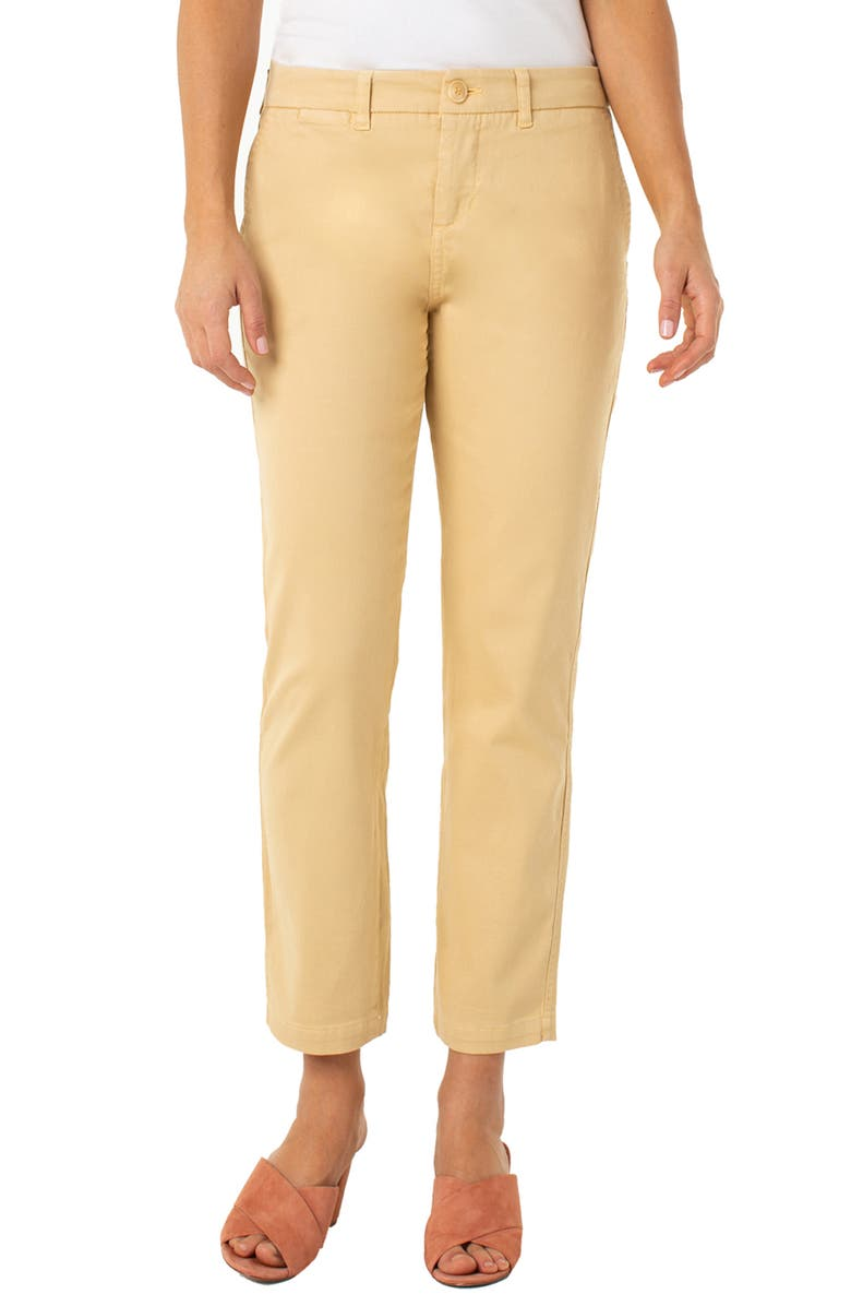 LIVERPOOL Bobbie Ankle Trousers, Main, color, 045