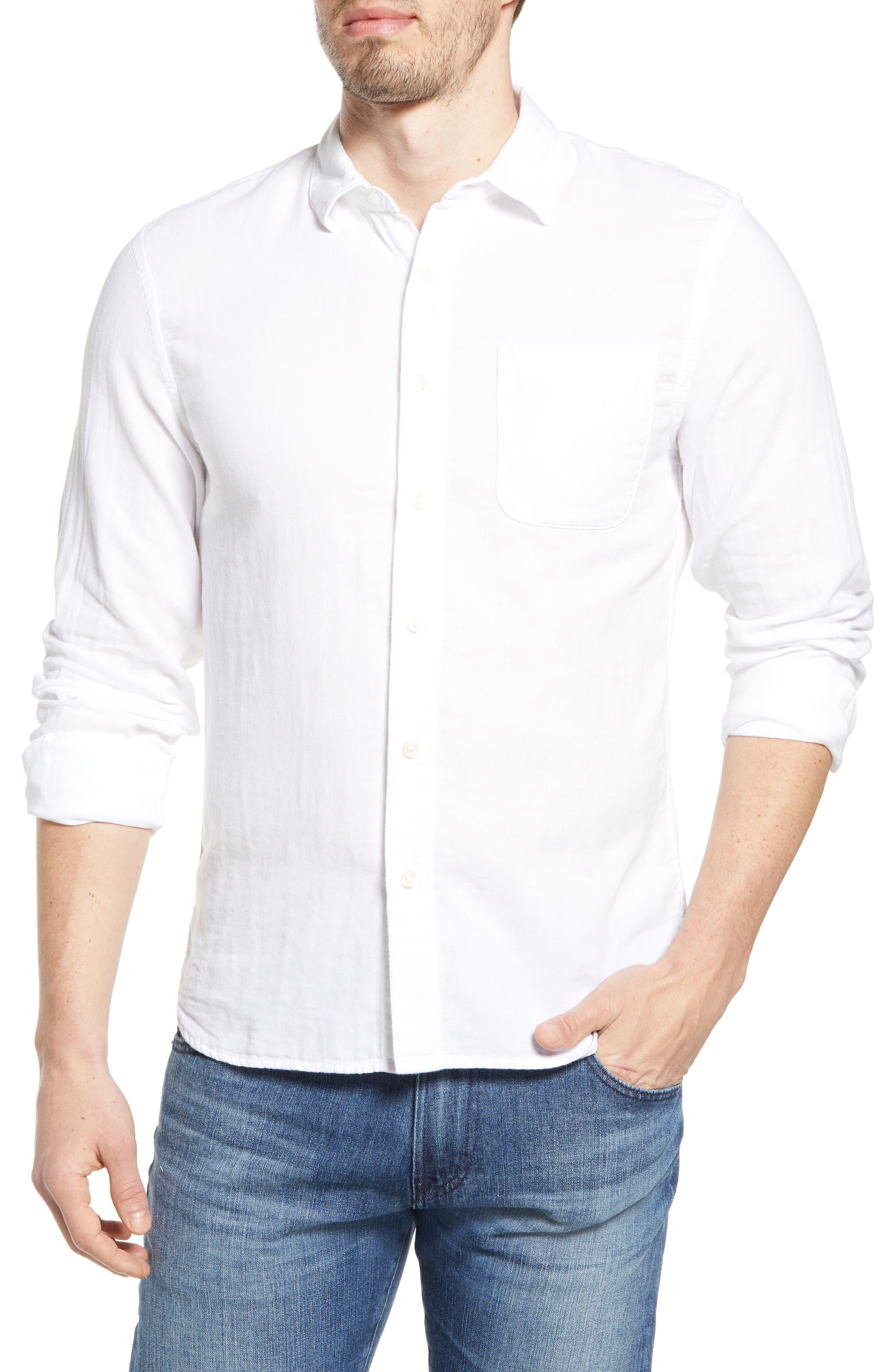 The Ripper Organic Cotton Gauze Button-Up Shirt
