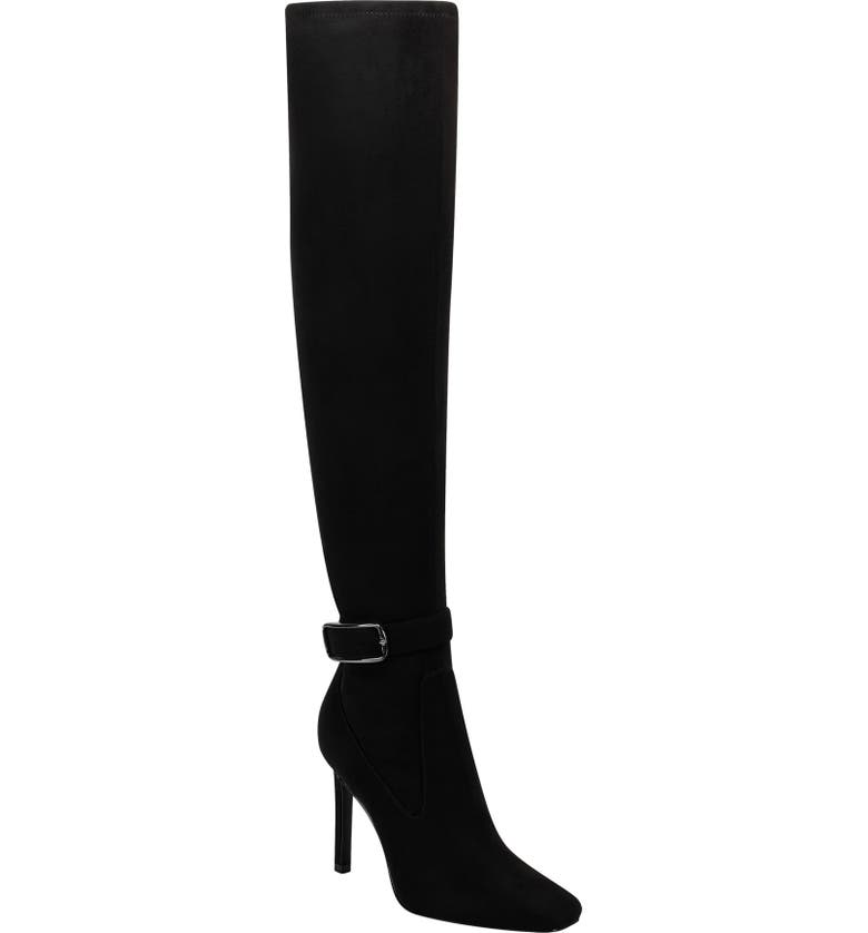 MARC FISHER LTD Caia Buckle Over the Knee Boot, Main, color, 012