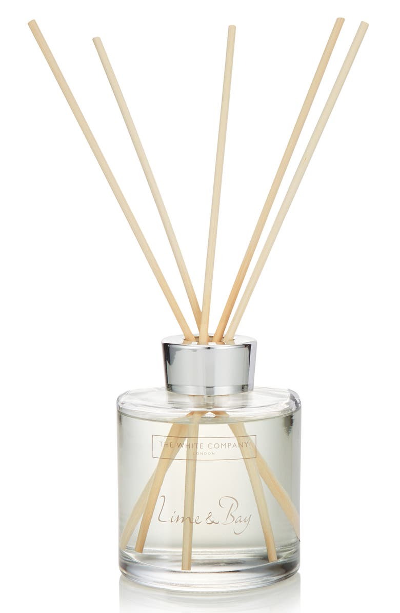 THE WHITE COMPANY Large Home Fragrance Diffuser, Main, color, LIME/ BAY