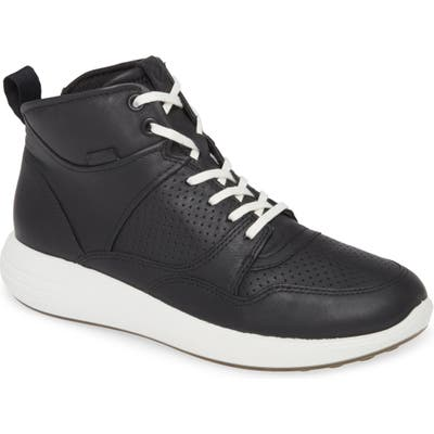 Ecco Soft 7 Runner Sneaker Boot, Black