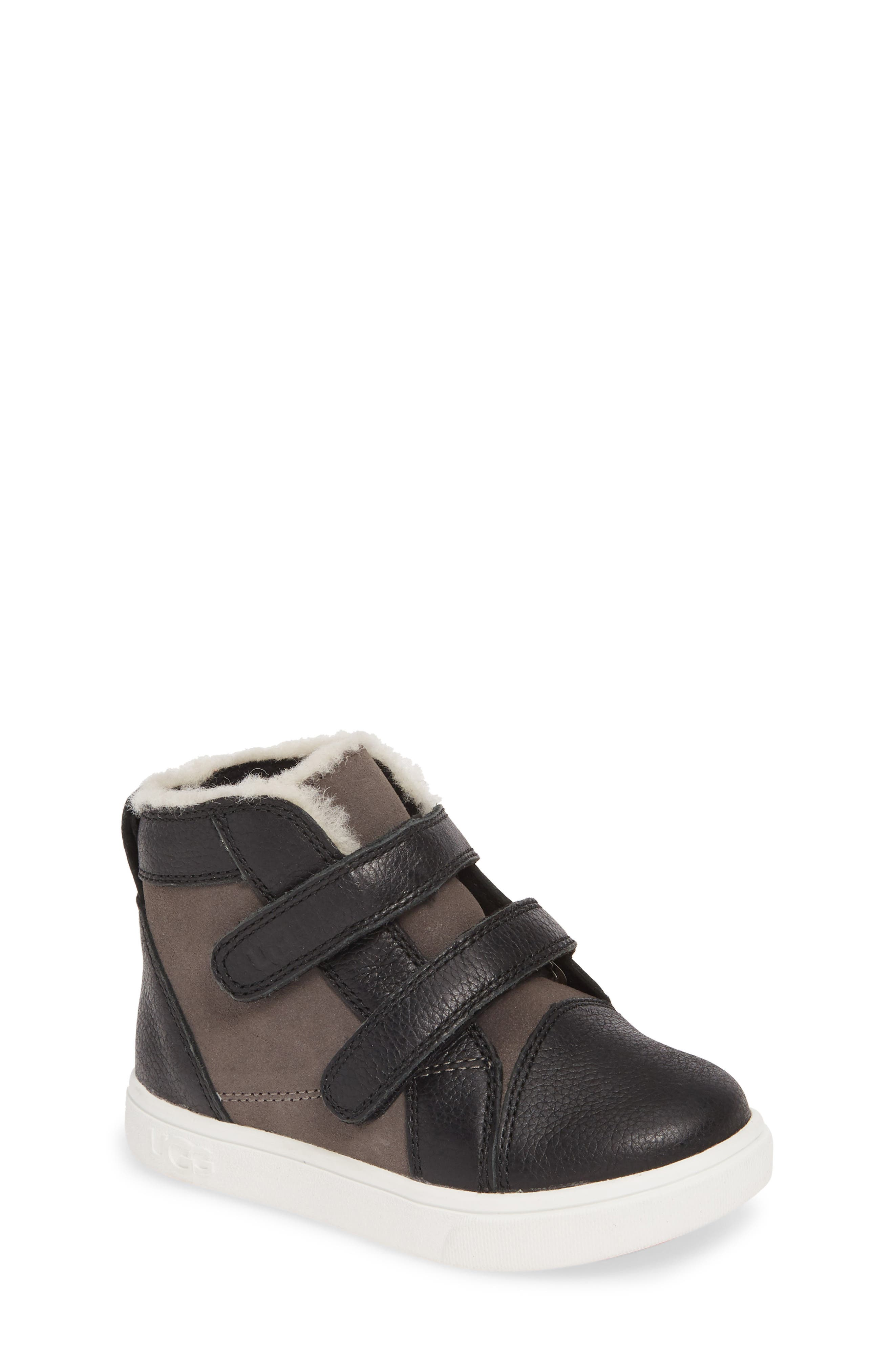 Toddler Boys Ugg Rennon High Top Sneaker