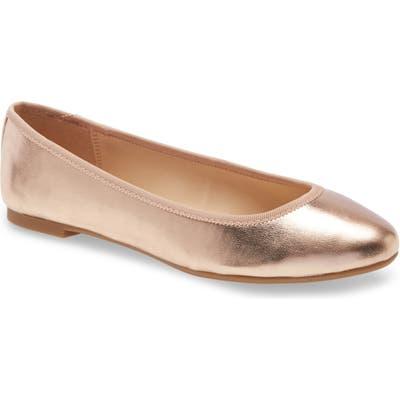Bp. Bianca Ballet Flat- Metallic