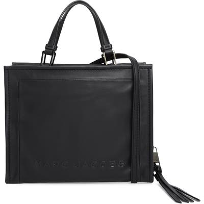 Marc Jacobs The Box 29 Leather Satchel - Black
