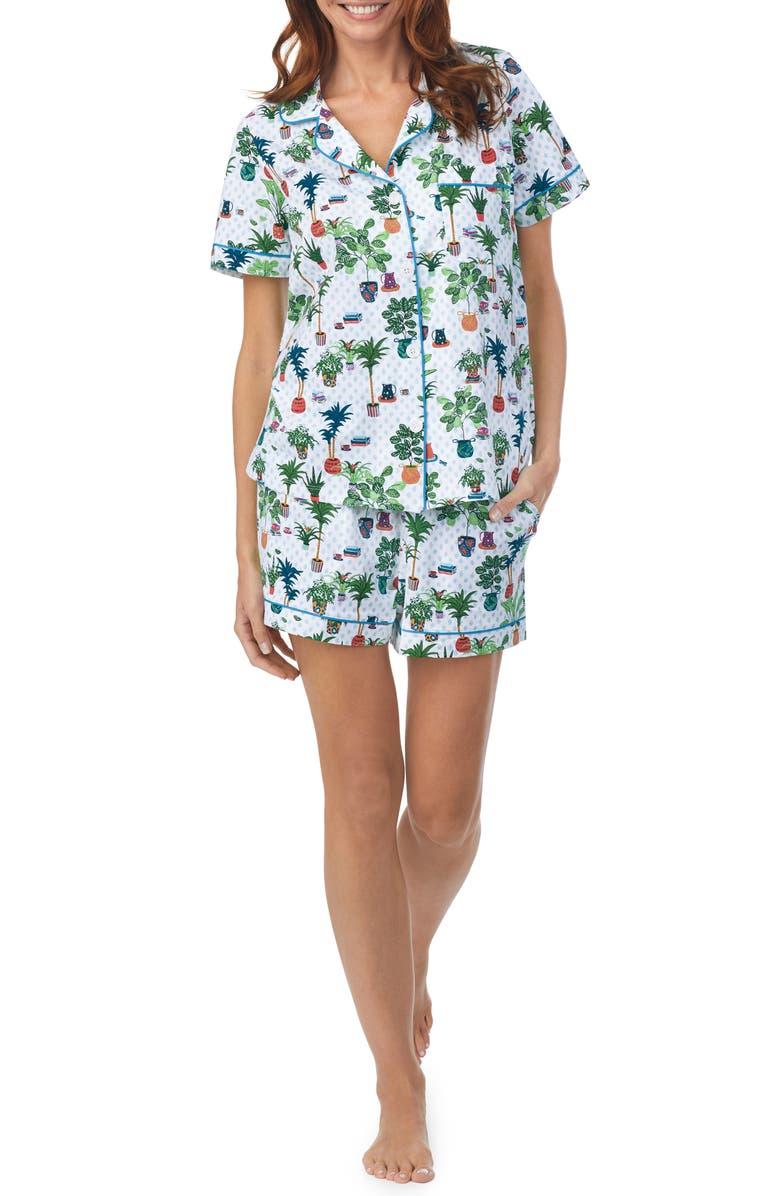 BEDHEAD PAJAMAS Print Short Pajamas, Main, color, INDOORSY