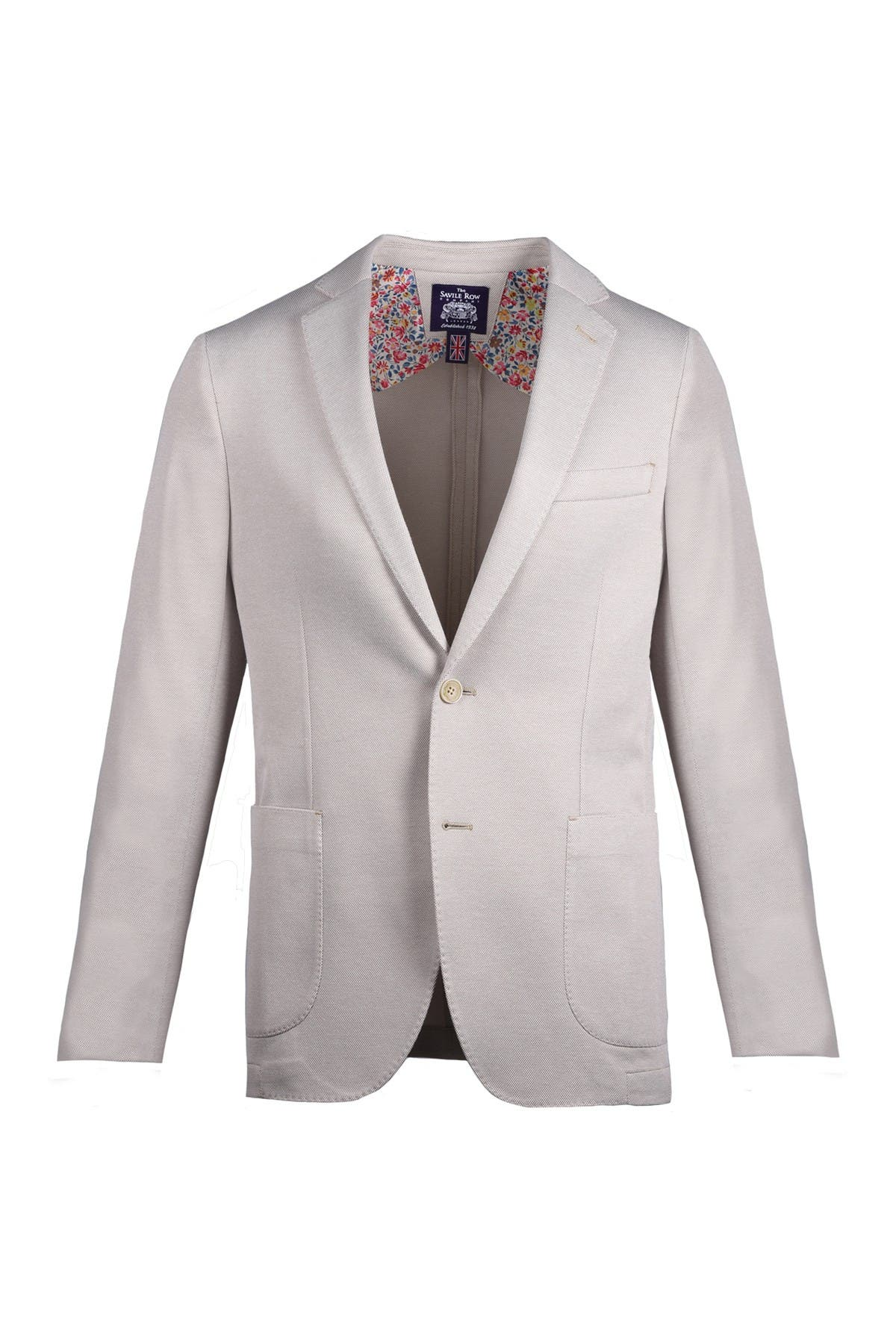 Image of SAVILE ROW CO Slim Knit Blazer