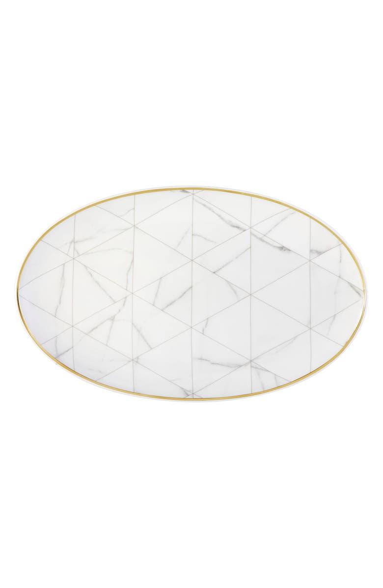 VISTA ALEGRE VistaAlegre Carrara Large Oval Platter, Main, color, 100