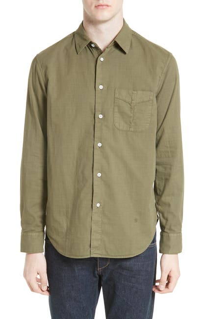 Image of Rag & Bone Standard Issue Solid Sport Shirt