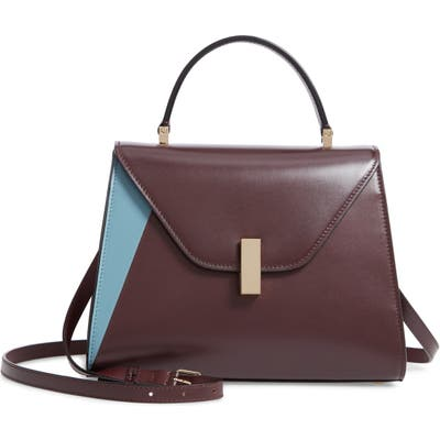 Valextra Iside Medium Top Handle Bag - Brown
