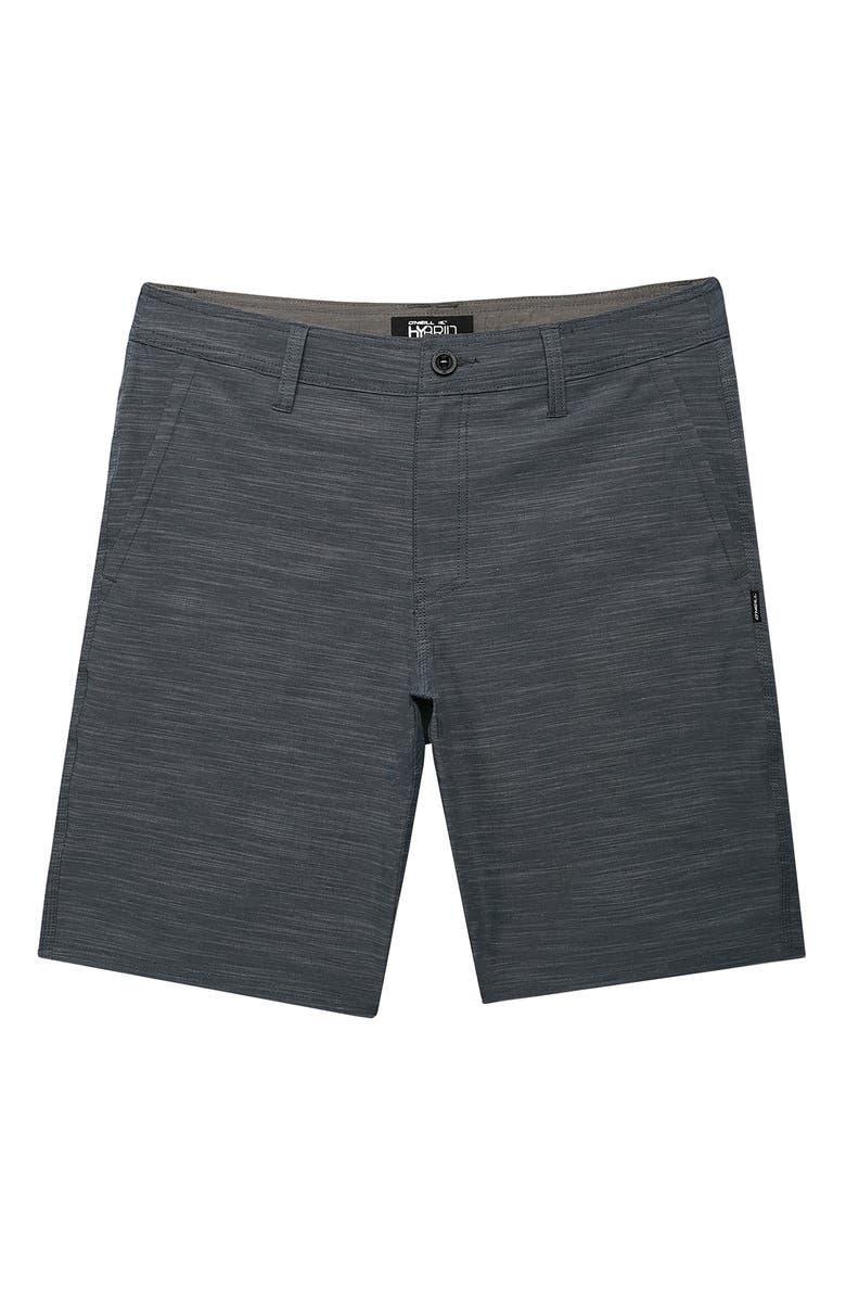 O'NEILL Locked Slub Hybrid Shorts, Main, color, SLATE