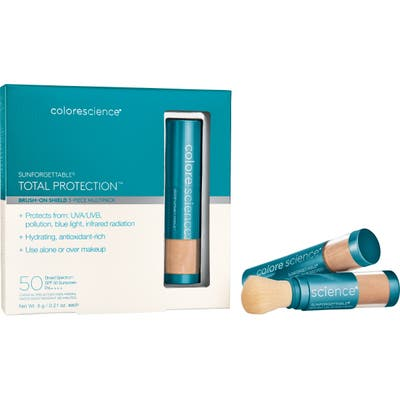 Colorescience Sunforegettable Total Protection Brush-On Sunscreen Spf 50