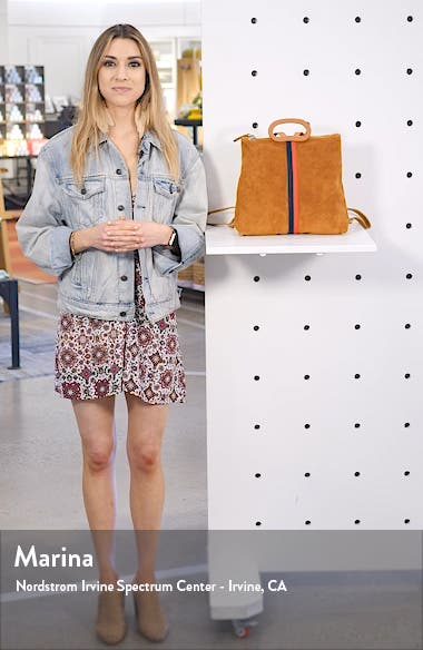 Marcelle Suede Backpack, sales video thumbnail