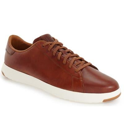 Cole Haan Grandpro Low Top Sneaker- Brown