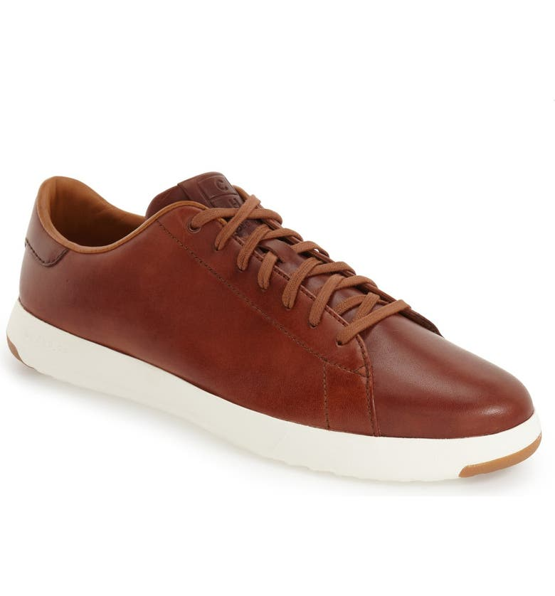 COLE HAAN GrandPro Low Top Sneaker, Main, color, WOODBURY HAND STAIN