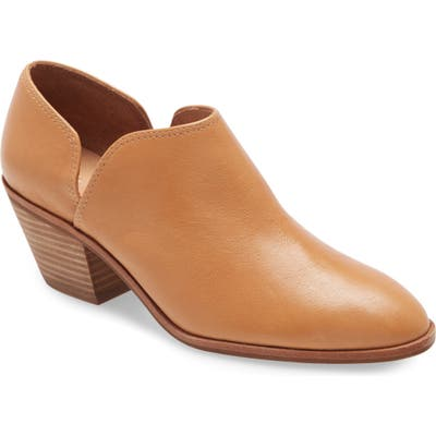 Madewell The Brady Low-Cut Bootie, Brown
