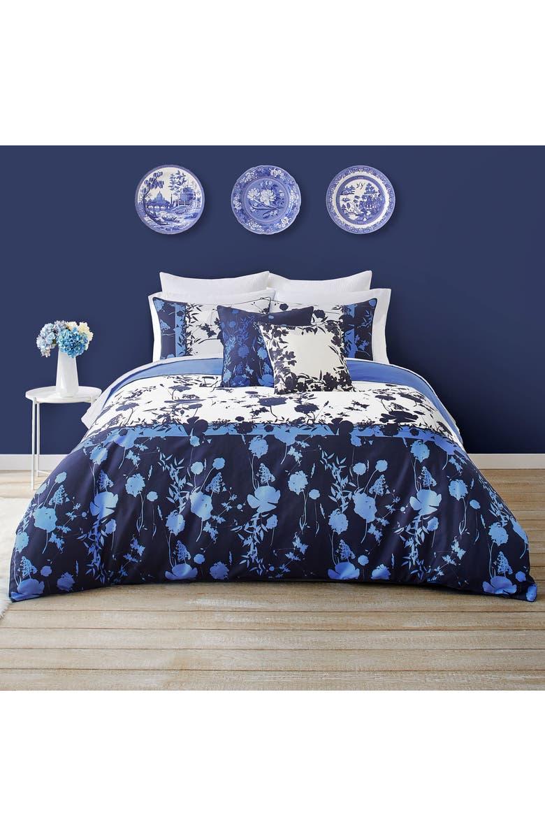 TED BAKER LONDON Bluebell Comforter & Sham Set, Main, color, BLUE