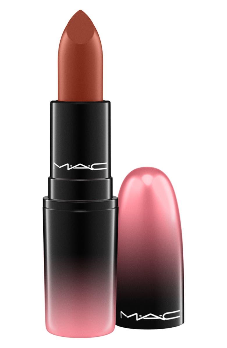 MAC COSMETICS MAC Love Me Lipstick, Main, color, DGAF