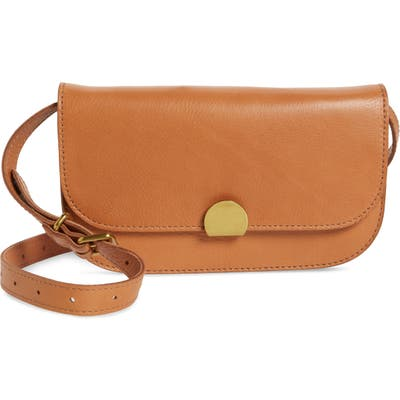Madewell The Abroad Leather Convertible Crossbody Bag - Brown