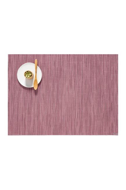 Image of Chilewich Bamboo Rhubarb Placemats - Set of 4