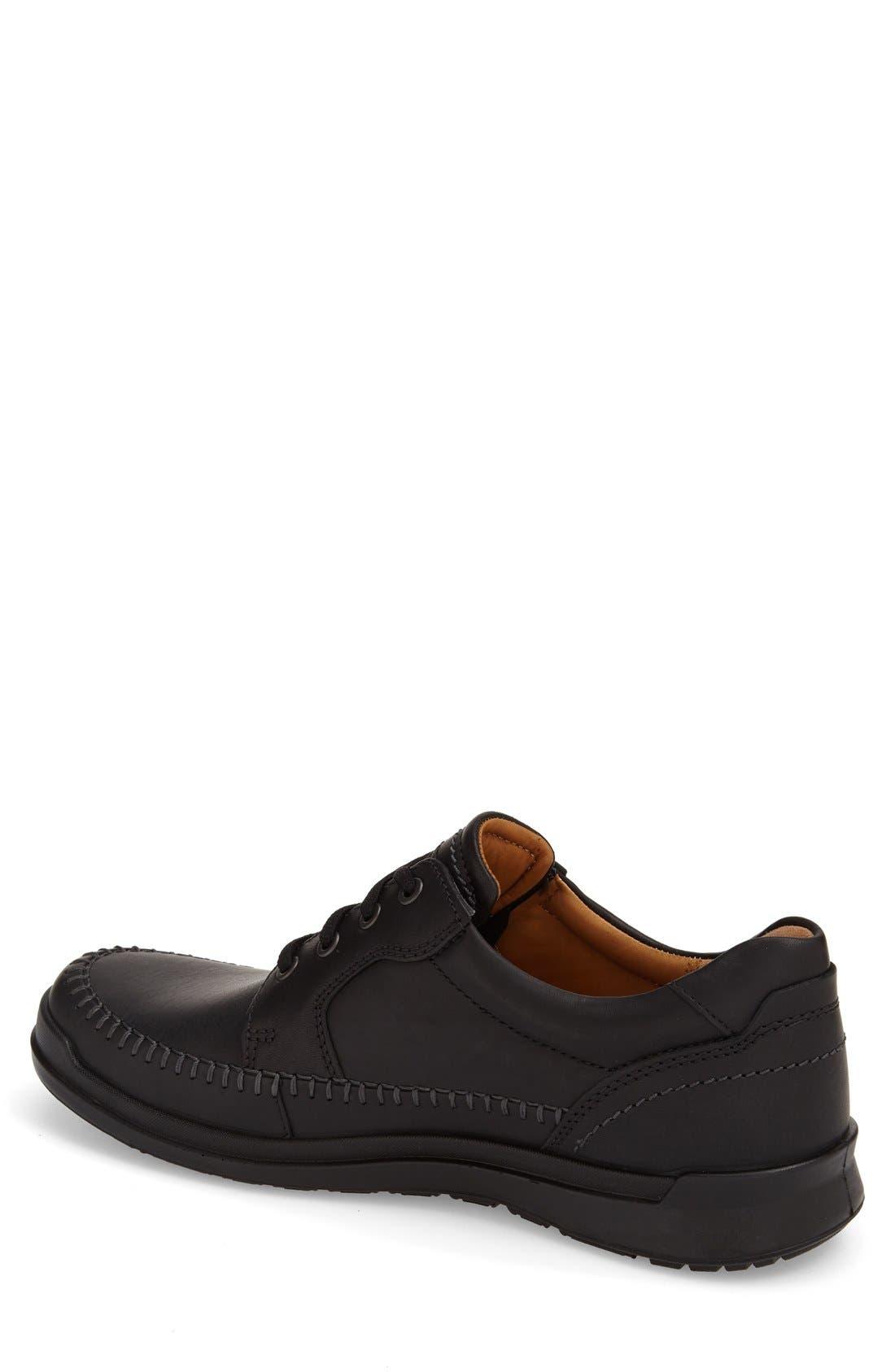 ECCO 'Howell' Moc Toe Sneaker (Men