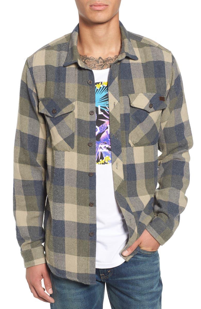 4e136f078 Billabong Ventura Plaid Flannel Shirt | Nordstrom