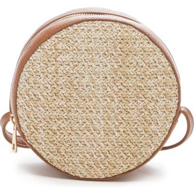 Sole Society Apryl Circle Crossbody Bag - Beige