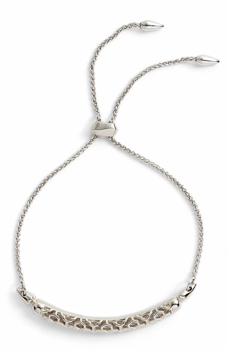 KENDRA SCOTT Gilly Adjustable Bracelet, Main, color, 040