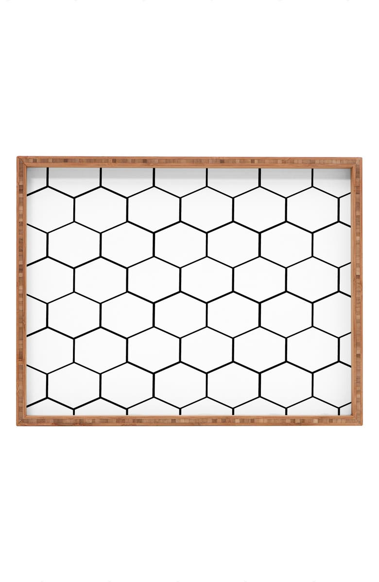 Deny Designs Honeycomb Serving Tray