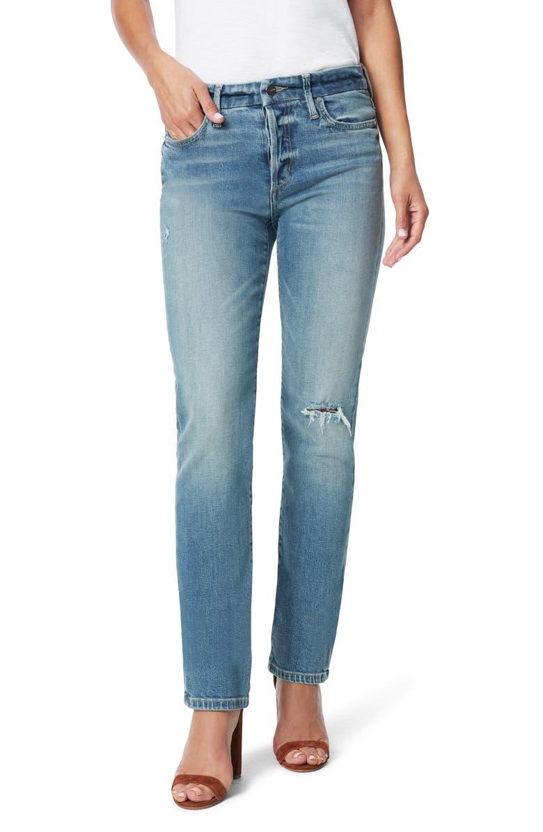 JOE'S The Lara Cigarette Jeans, Main, color, PONDEROSA
