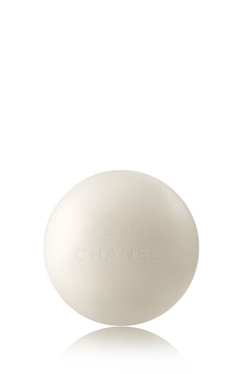 CHANEL LE BLANC BRIGHTENING PEARL <br />Soap Makeup Remover-Cleanser, Main, color, NO COLOR
