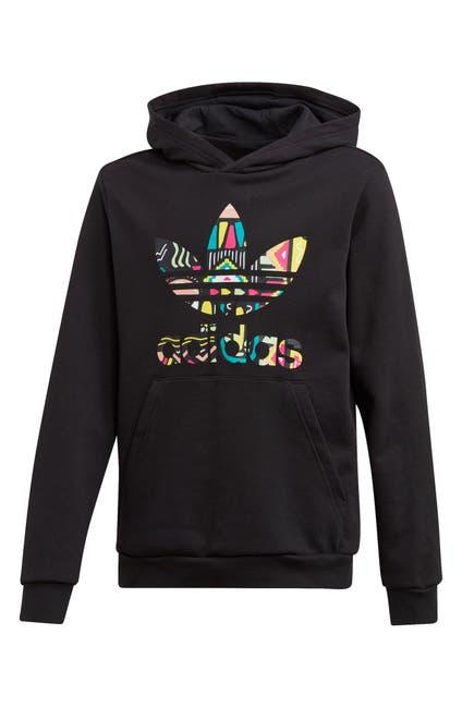 Image of ADIDAS ORIGINALS Logo Print Hoodie