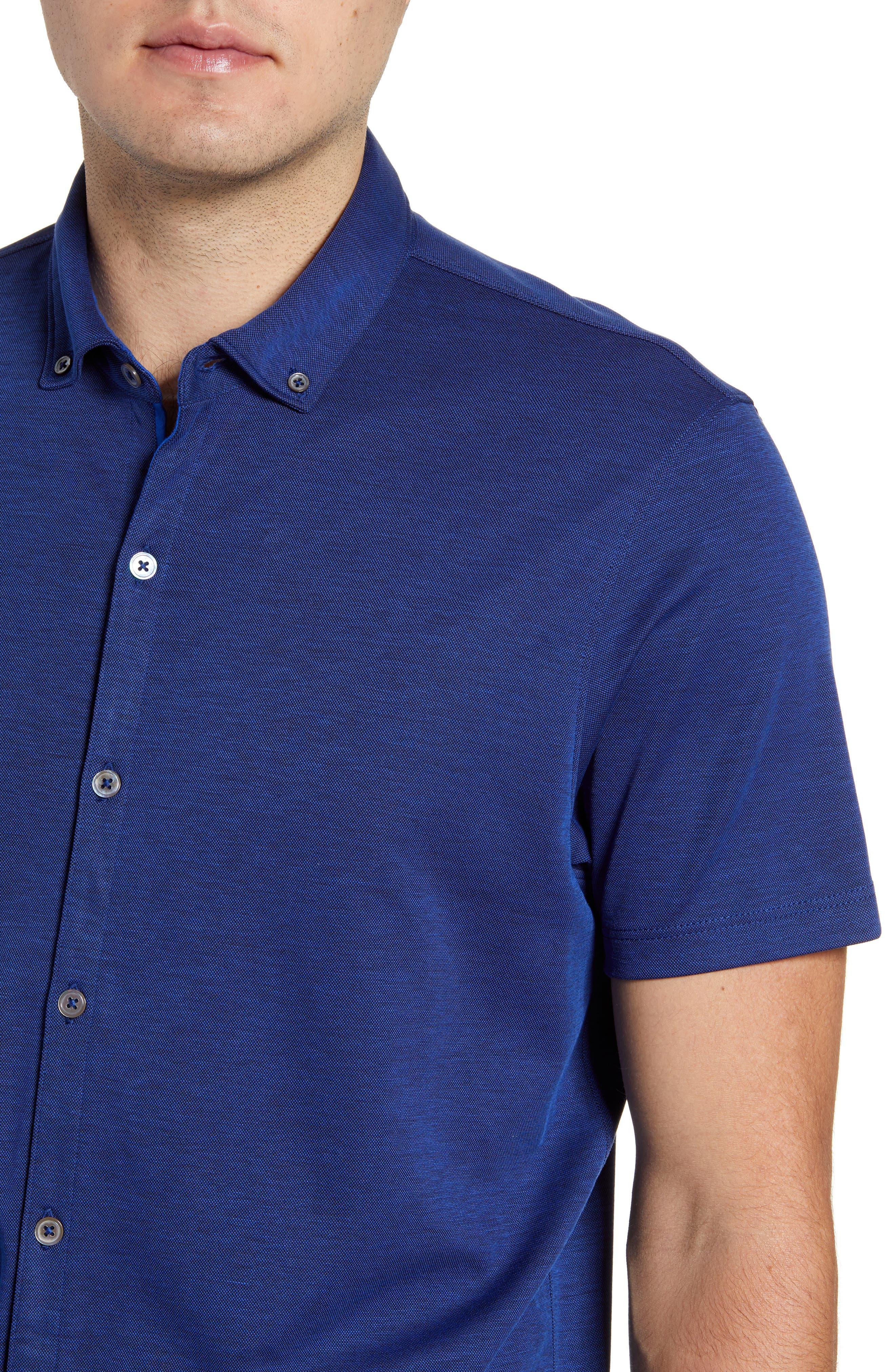 ,                             Caruth Regular Fit Short Sleeve Sport Shirt,                             Alternate thumbnail 28, color,                             432