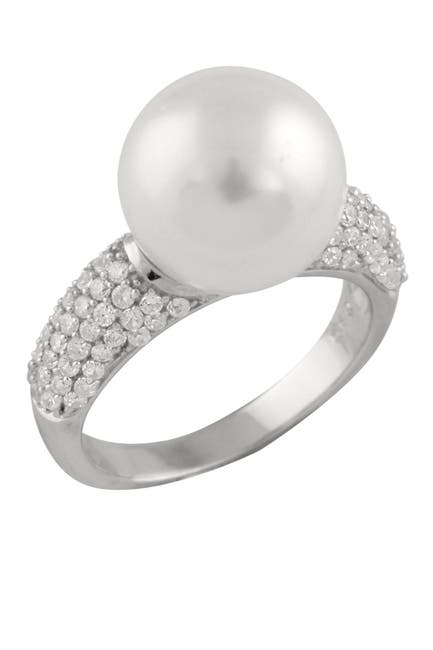 Image of Splendid Pearls 12mm Shell Pearl Ring
