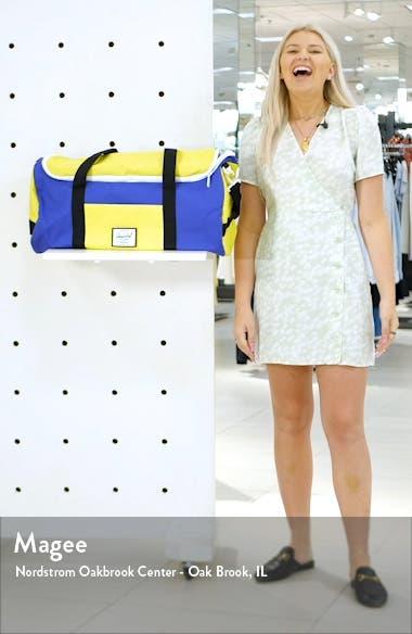 Sutton Colorblock Duffle Bag, sales video thumbnail