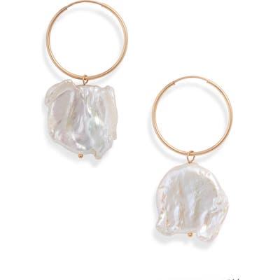 Wolf Circus Pearl Hoop Earrings