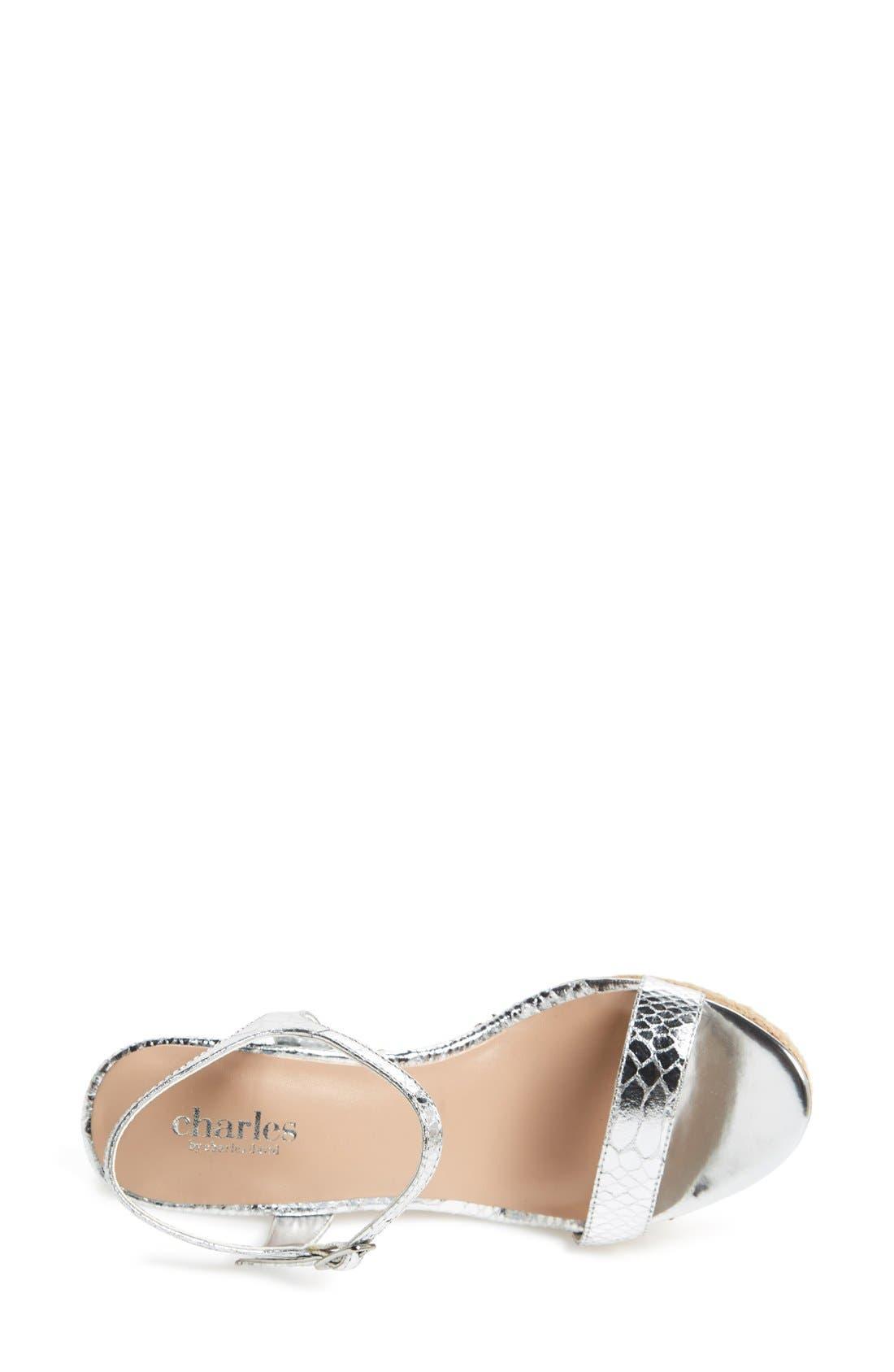 ,                             'Alabama' Espadrille Wedge Sandal,                             Alternate thumbnail 7, color,                             041