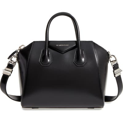 Givenchy Small Antigona Box Leather Satchel -