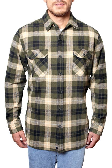 Image of Freedom Foundry Plaid Flannel Regular Fit Shirt