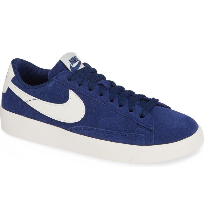 NIKE Blazer Low Sneaker, Main, color, 402