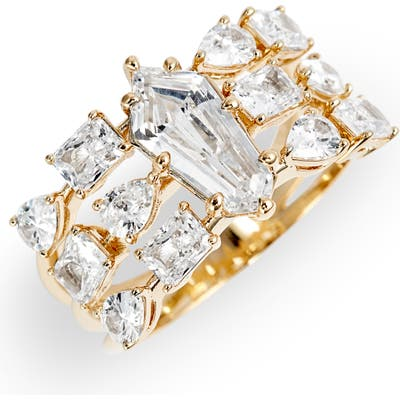 Nadri Eliza Stack Ring