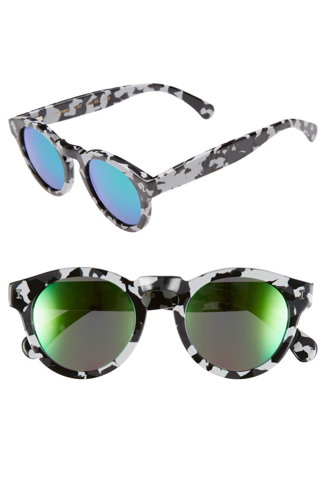 ,                             'Leonard' 47mm Sunglasses,                             Main thumbnail 63, color,                             198