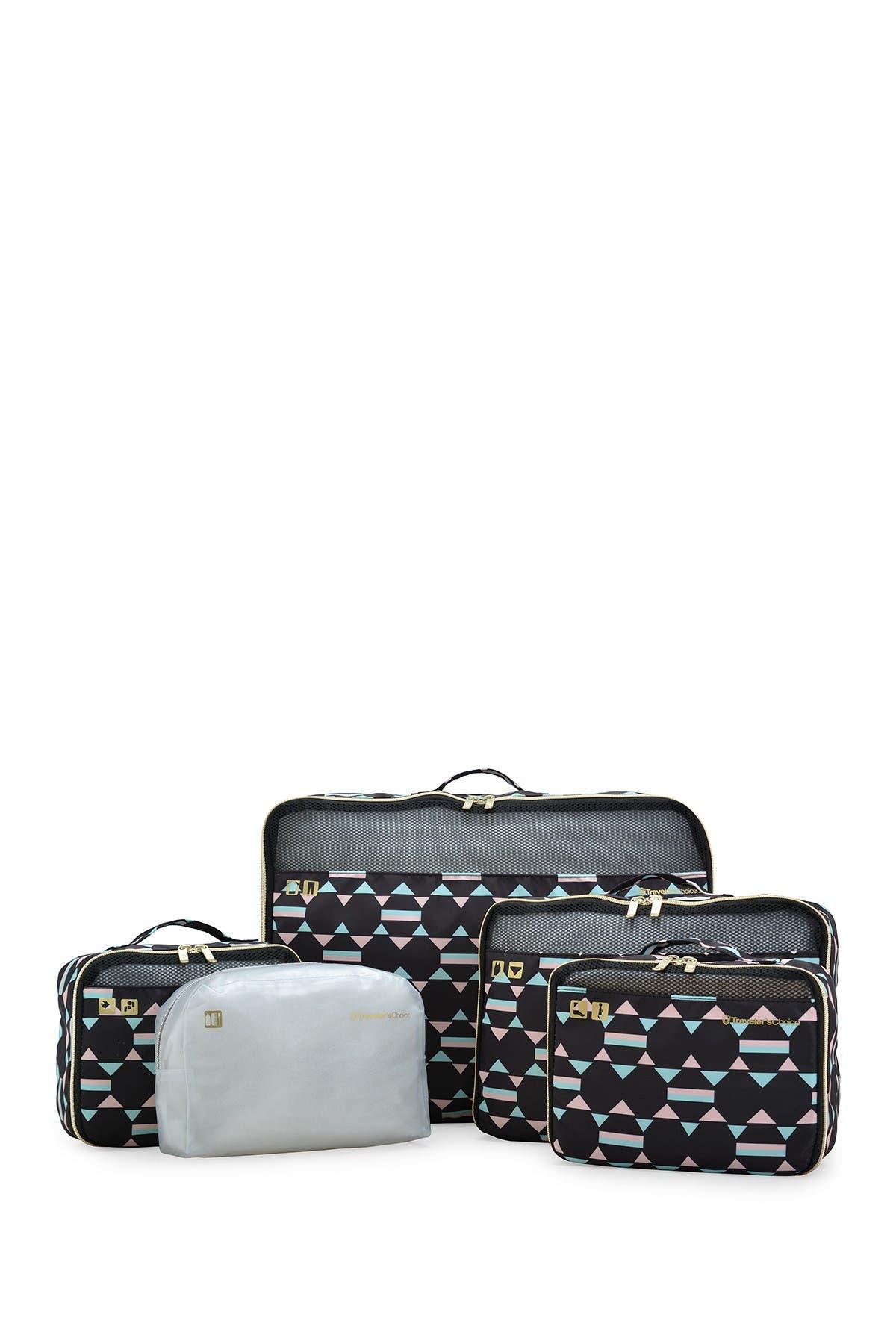 Image of Traveler's Choice Packing Cubes 5-Piece Set