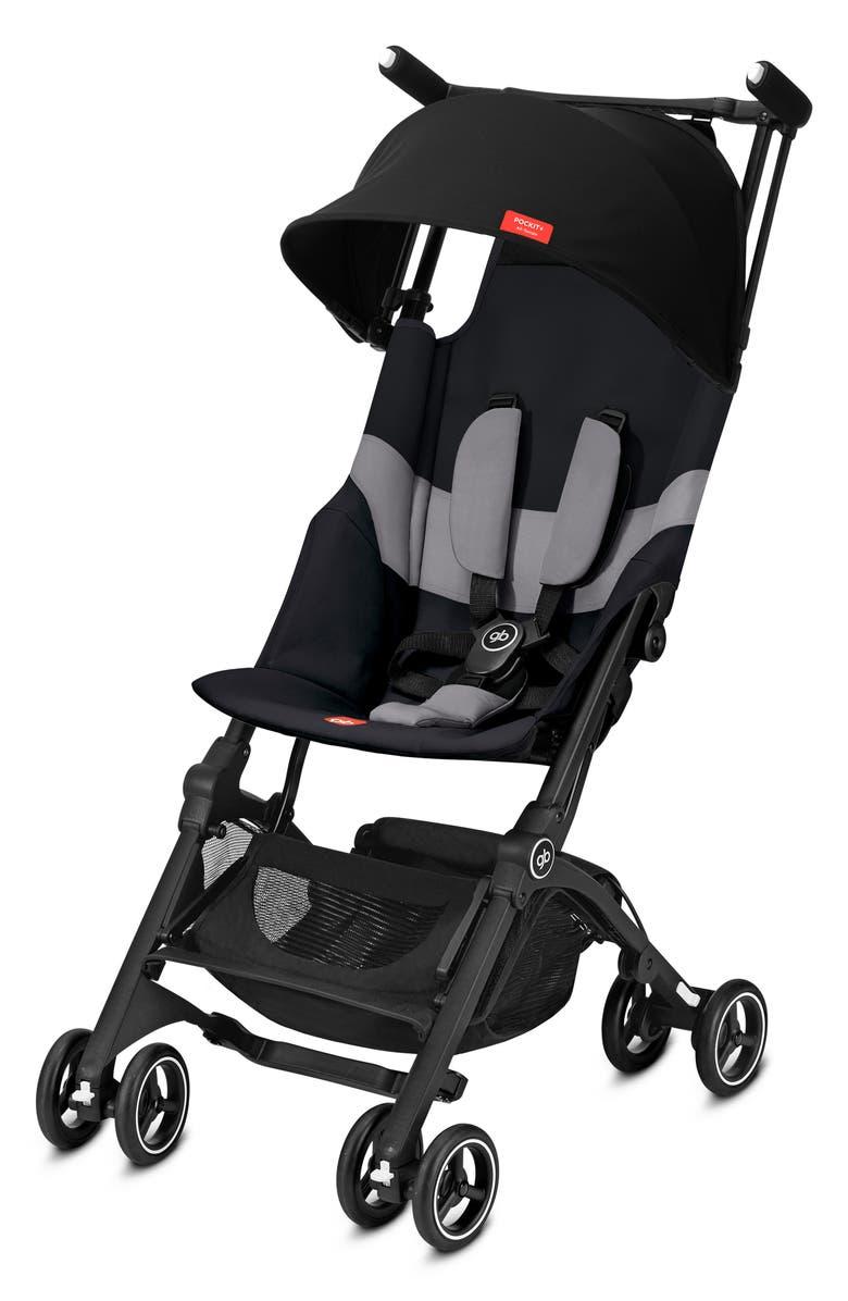 CYBEX gb Pockit+ Stroller with All Terrain Wheels, Main, color, VELVETBLACK
