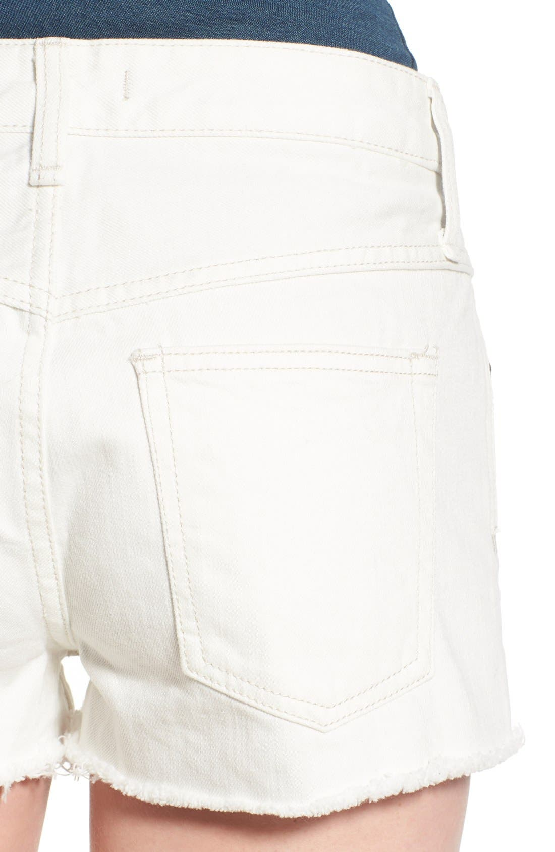 ,                             'Uptown' Denim Shorts,                             Alternate thumbnail 9, color,                             137