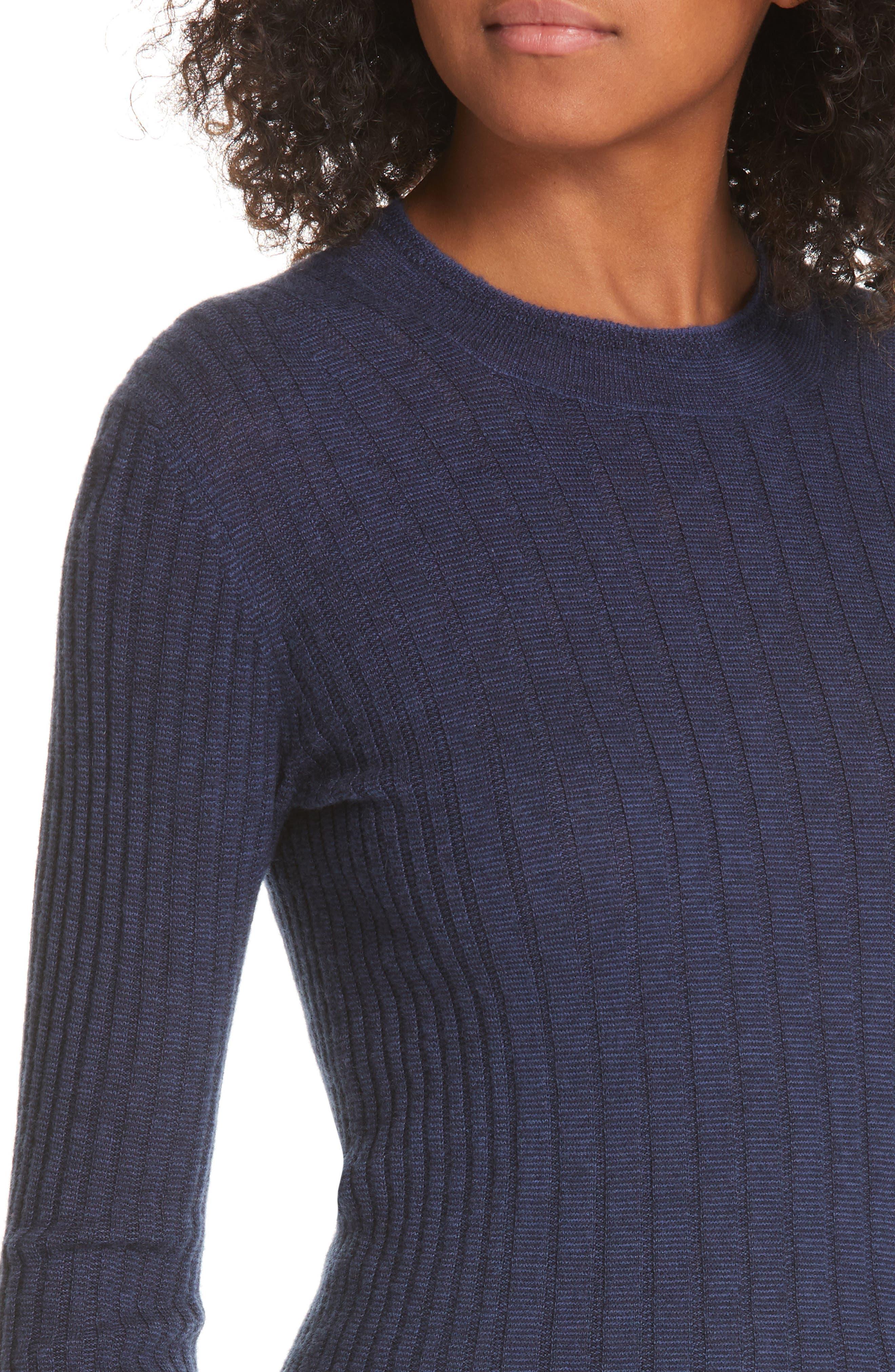 ,                             Mixed Rib Stitch Sweater,                             Alternate thumbnail 11, color,                             400