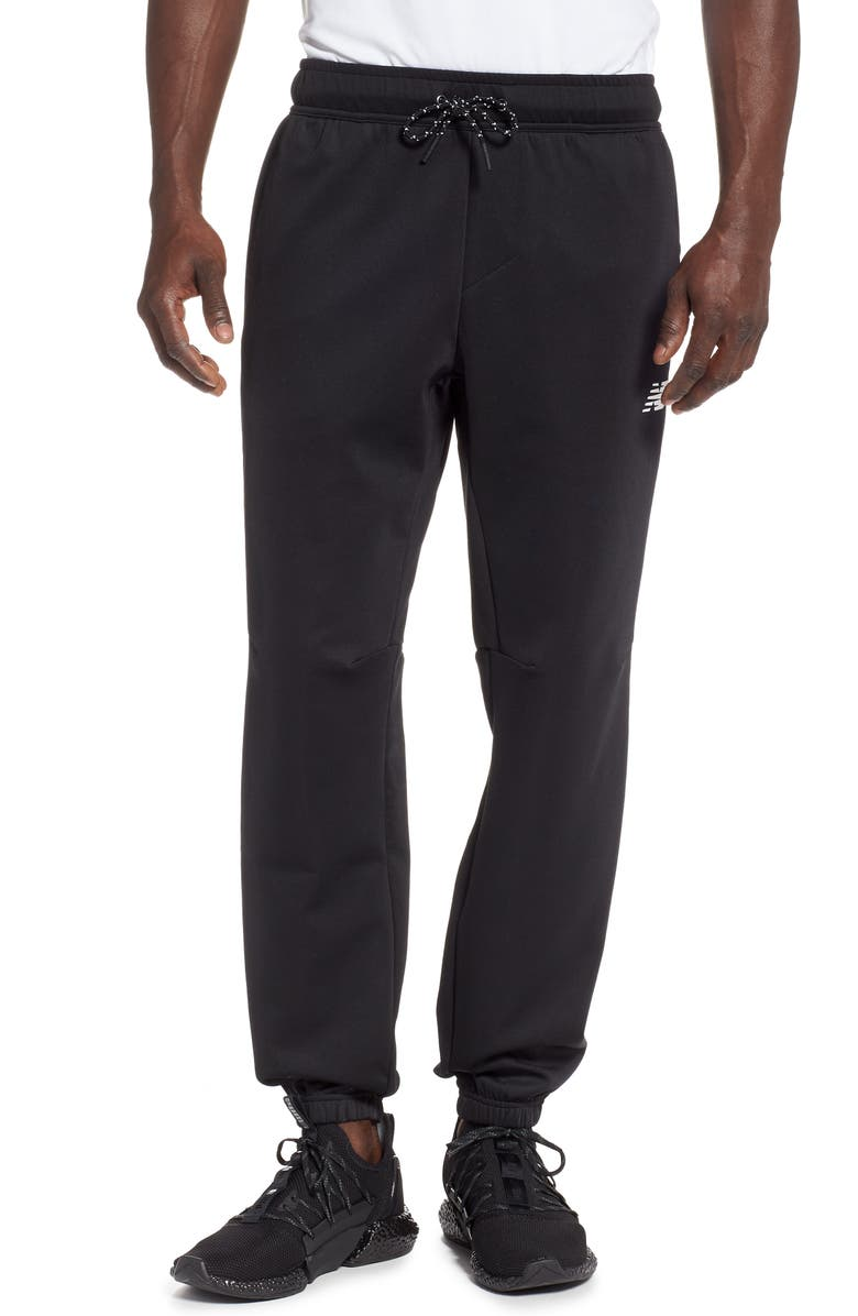 NEW BALANCE Athletics Sweatpants, Main, color, BLACK