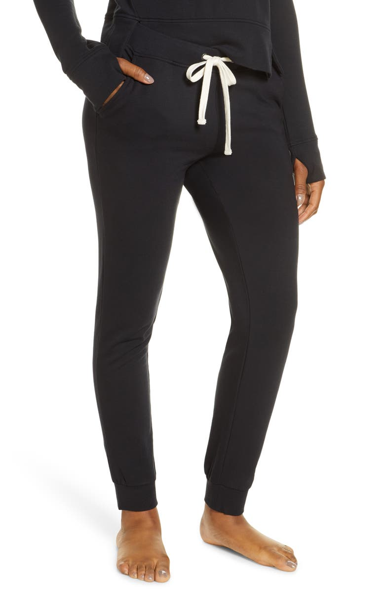 UGG<SUP>®</SUP> Deven Jogger Pants, Main, color, BLACK