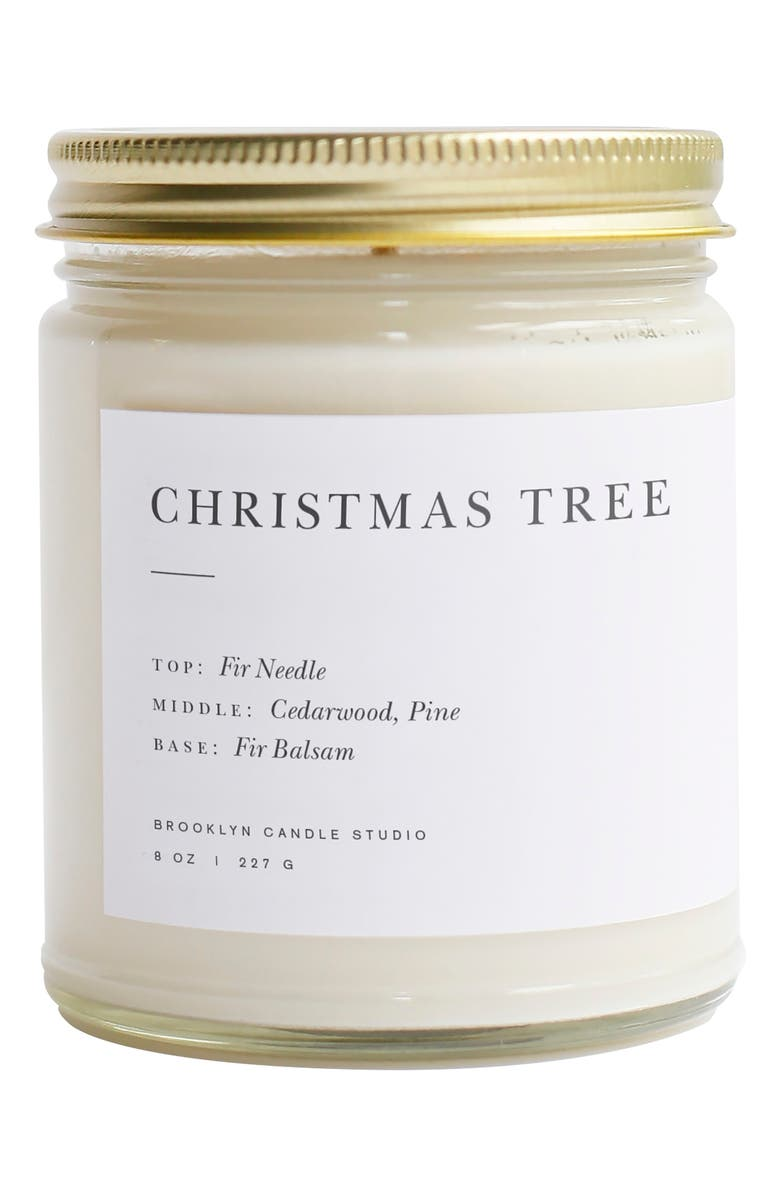BROOKLYN CANDLE Minimalist Collection - Christmas Tree Candle, Main, color, 100