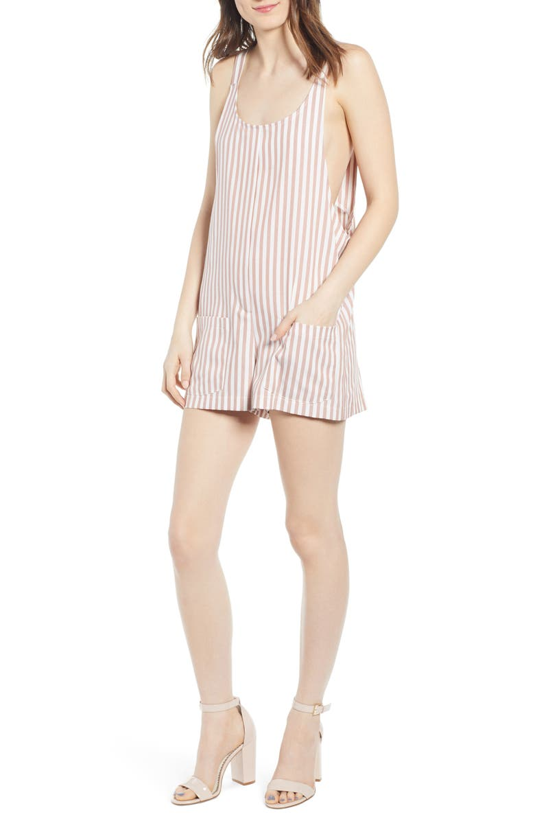 BISHOP + YOUNG Gracie Romper, Main, color, SIERRA STRIPE