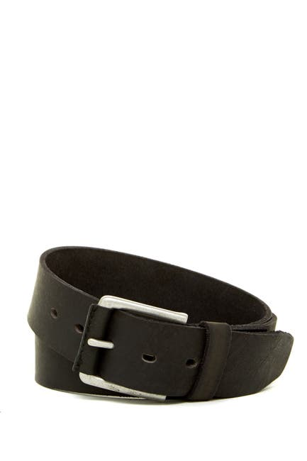 Image of Timberland Leather Pull-Up Belt